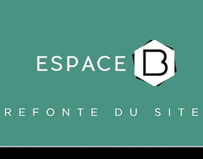 Espace B  - Webdesign