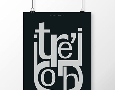 poster series: fonts