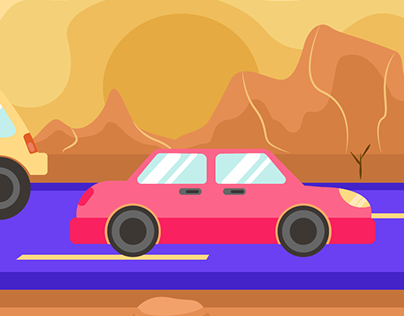 Cars animation for Game Design