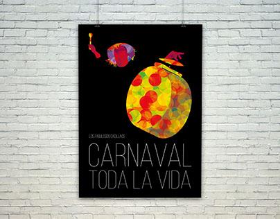 Afiches & música · Carnaval toda la vida