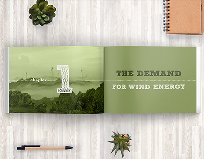 Book design - Biodiversity & Wind Energy