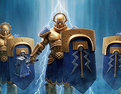 Warhammer Storm Cast Eternals