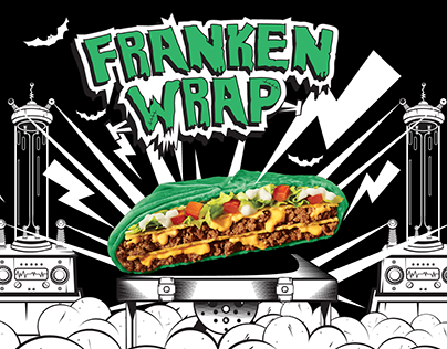 Franken Wrap - Taco Bell