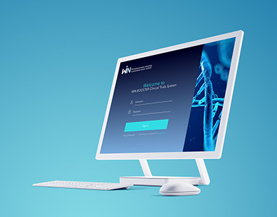 WIN Consortium Clinical Trials System website design