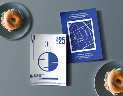 Massolit Cooks restaurant brochure