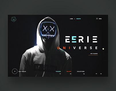 Eerie Universe Ui Design