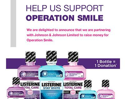 Superdrug Email Marketing - Listerine Project Smile