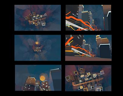 VR Illustration - City
