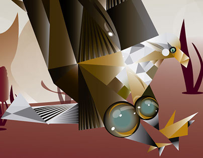 Águila Geometrizada