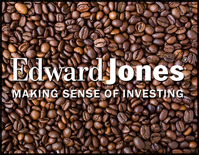 Edward Jones Coffee Card.