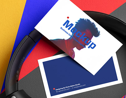 free PSD Mockup business card for Sound Engineer