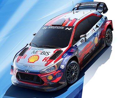 FULL CGI: HYUNDAI MOTORSPORT- WRC