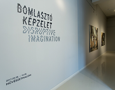 Disruptive Imagination – exhibition design
