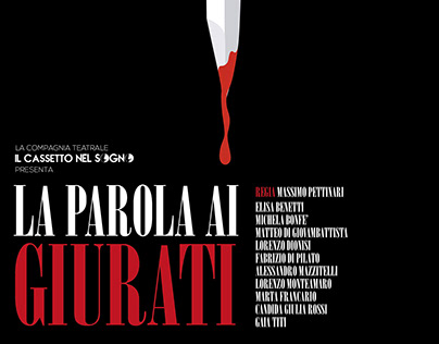 Graphic // theater poster