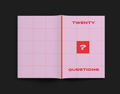 20 Questions Zine