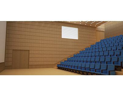 Interior design - Auditorium