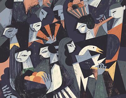 Various illustrations / Summer 2015 part II