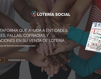 Plataforma Lotería Social