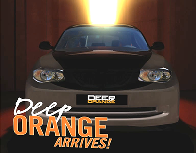 Deep Orange Arrives