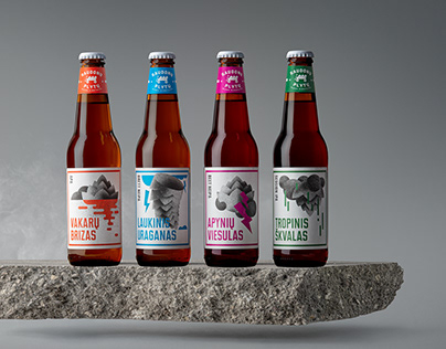 IPA beer label designs