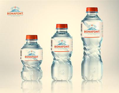 BONAFONT® Re-Branding & Bottel Label Redesigning