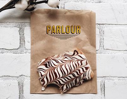 Parlour Vegan Bakery rebrand