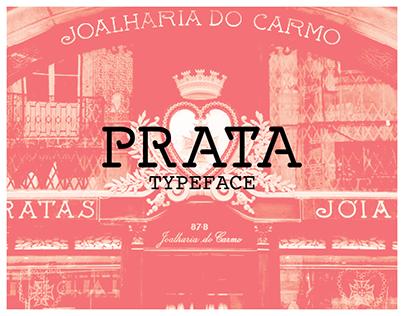 PRATA • Typeface