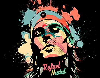 Rafael Nadal Projects Photos Videos Logos Illustrations And Branding On Behance