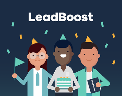 LeadBoost — Brand Identity