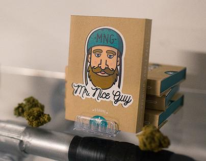 Mr. Nice Guy I Brand Identity, Packaging & App