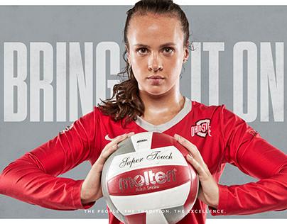 Ohio State Women's Volleyball Mini Posters II