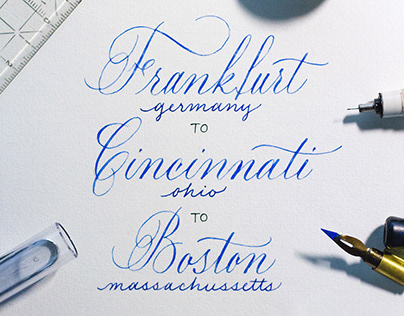 Selected Lettering