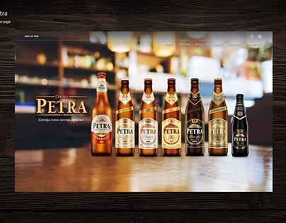 Website Cerveja Petra