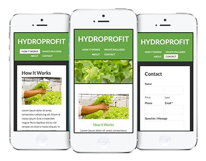 Green / Responsive Website