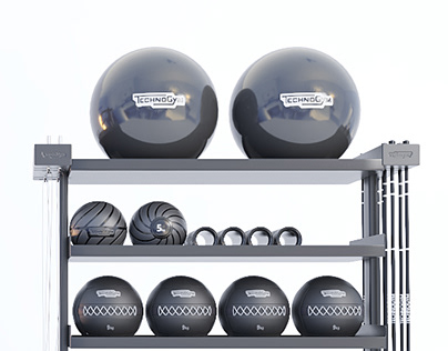 Realistic 3D GYM GALLERY
