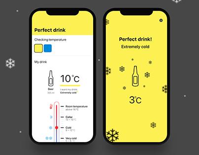 Perfect drink App IoT