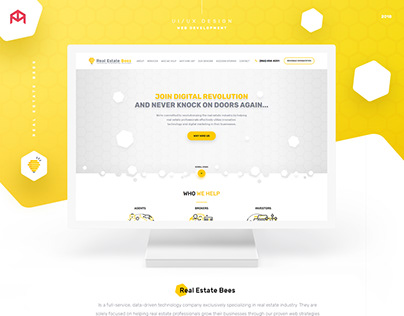 Real Estate Bees — Web Agency (UX/UI)