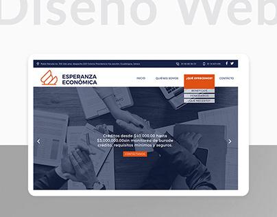 Diseño Web ll Esperanza Económica