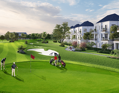 West Lakes Golf & Villas Long An