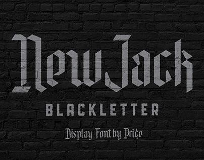 New Jack Blackletter Font