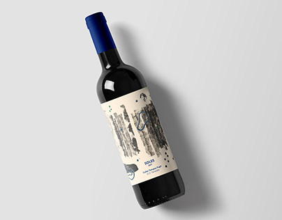 Wine Label · Soles