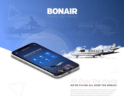 BonAir Mobile App Design