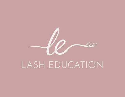 Lash Education | Logo design