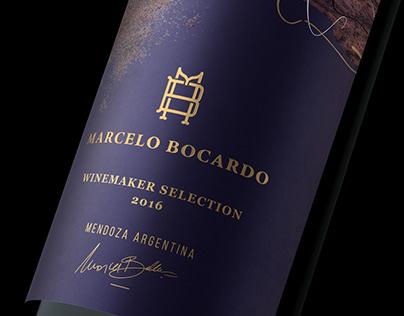 MARCELO BOCARDO - Winemaker Selection Packaging design