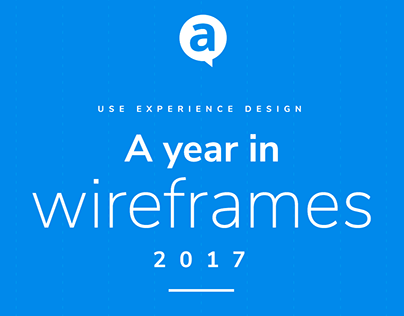 2017 - A year in wireframes