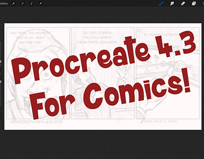 New Procreate 4.3 For Your Comics!