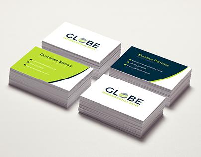 Corporate identity: Globe bank