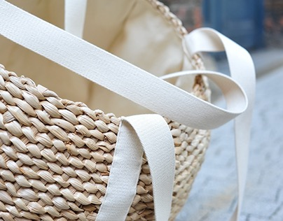Cattail laundry basket