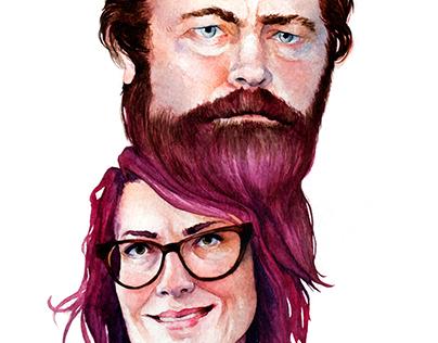 Megan Mullally & Nick Offerman Forever