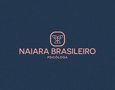 Naiara Brasileiro Psicóloga - Branding